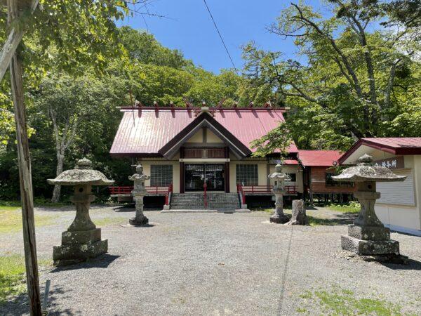 Eines der Gebäude im Kokutaiji
