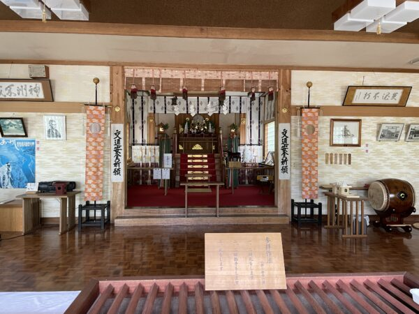 Altar im Kokutaiji von Akkeshi