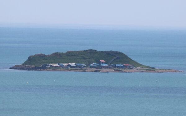 Die winzige Insel Kojima in Akkeshi