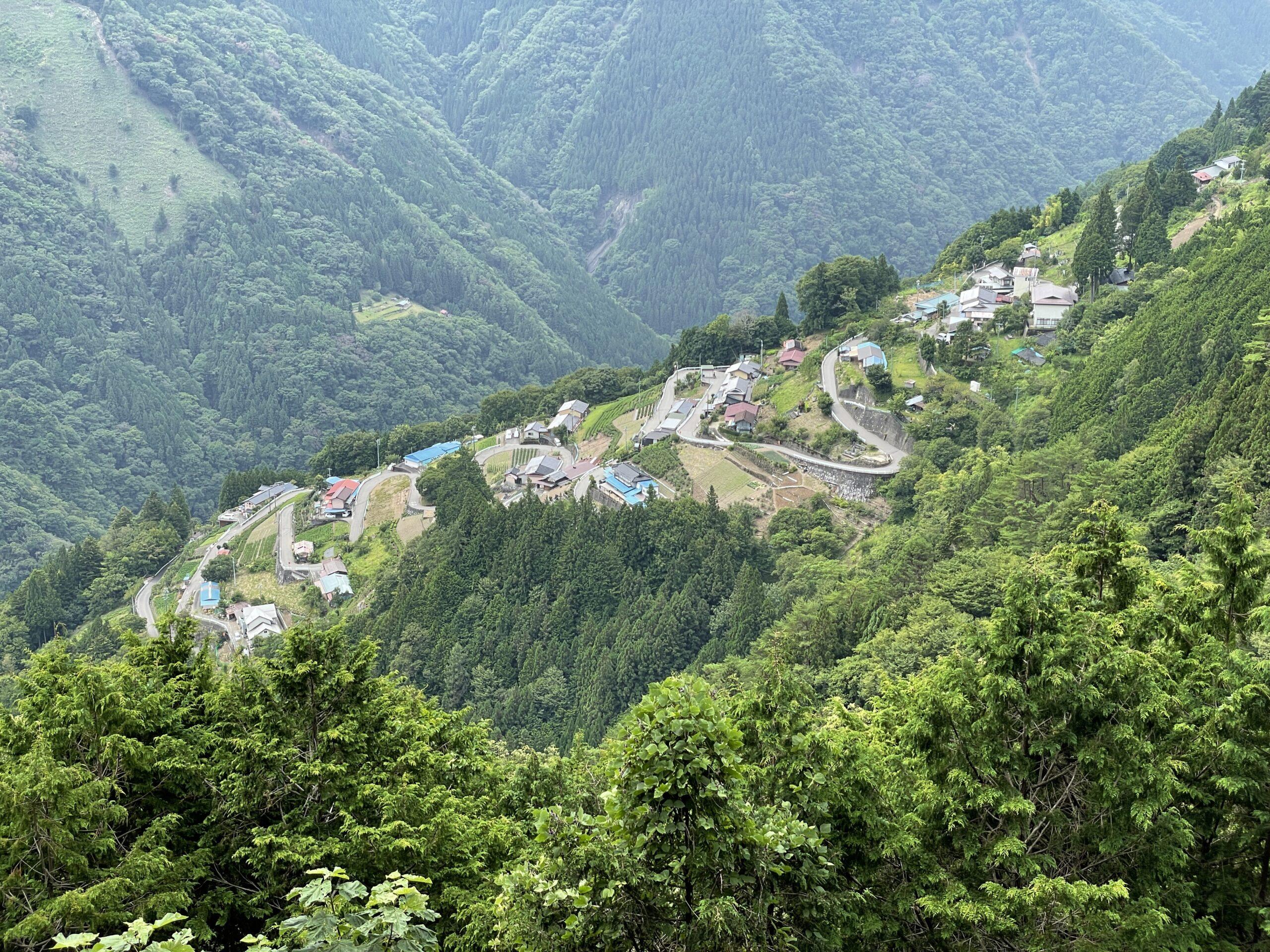 Shimoguri in Iida, Nagano: Eine der 100 Japantypischen Ansichten