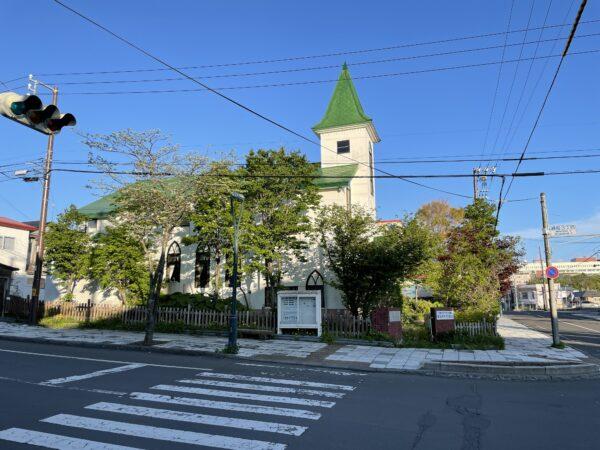 Kirche im Zentrum von Nemuro