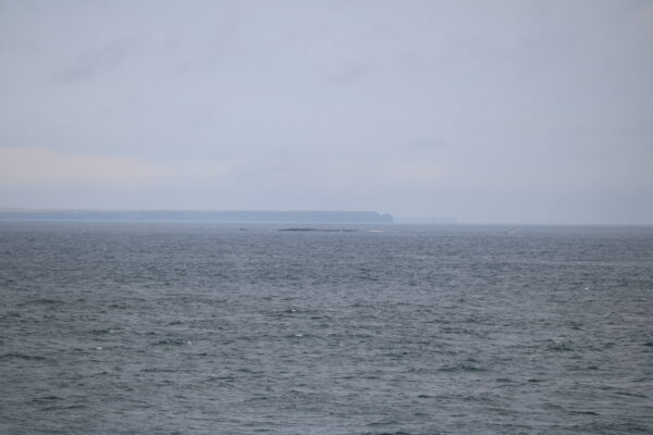 Die Insel Yuri-tō, vom Kap Nosappu aus gesehen